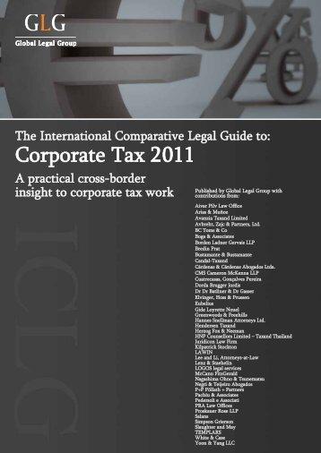 Corporate Tax 2011 - Templars Law Firm
