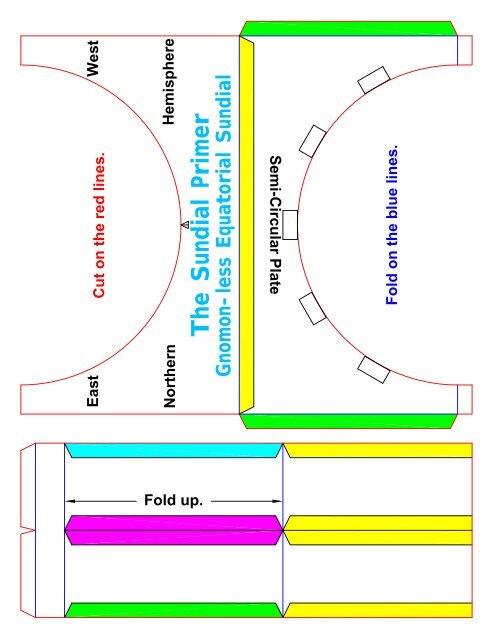 Gnomon Less Equatorial Sundial Kit Mysundial