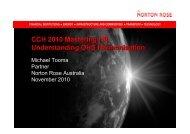 CCH 2010 Mastering HR Understanding OHS ... - CCH Australia
