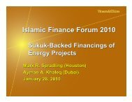 Islamic Finance Forum 2010 Islamic Finance Forum 2010