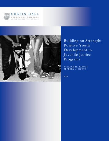 Building on Strength: Positive Youth Development in Juvenile ...