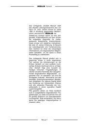 """MEDLAB Vorwort Das vorliegende """"Analytik Manual"""" stellt das ..."""