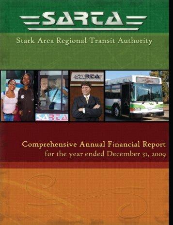 2009 CAFR - Stark Area Regional Transit Authority