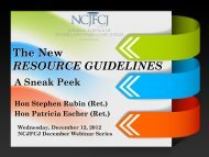 Judicial Bench Cards - National Council of Juvenile and Family ...