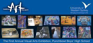 The First Annual Visual Arts Exhibition Invitation (PDF ... - Art Gallery