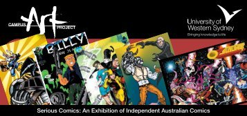 Serious Comics - University of Western Sydney