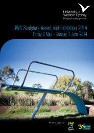 UWS Sculpture Award and Exhibition 2014 - Art Gallery - University ...