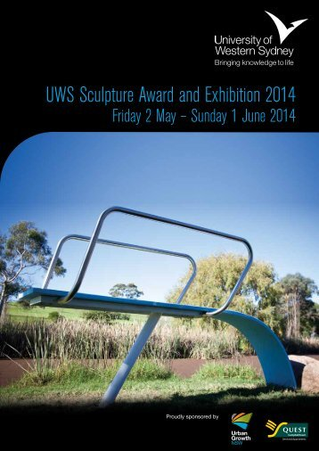 UWS Sculpture Award and Exhibition 2014 - Art Gallery - University ...