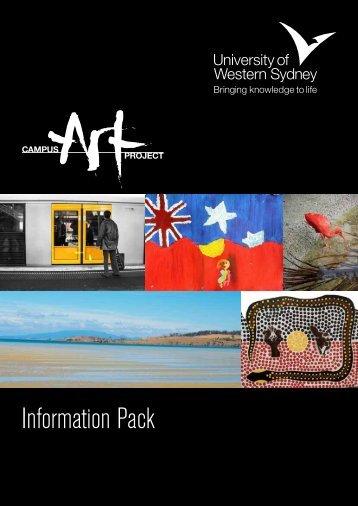Information Pack - UWS Art Gallery