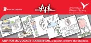 Art for Advocacy Invitation - Art Gallery - University of Western Sydney