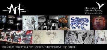The Second Annual Visual Arts Exhibition, Punchbowl ... - Art Gallery