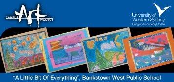 A Little Bit Of Everything Invitation - University of Western Sydney
