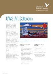 UWS Art Collection - Art Gallery