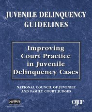 0 Intro - National Council of Juvenile and Family Court Judges
