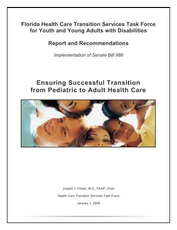 Ensuring Successful Transition from Pediatric to Adult ... - Florida ARF