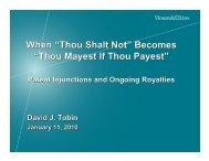 'Thou Shalt Not' Becomes