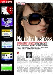 SupplierProfile SunShadeS eyewear iS the largeSt Privately owned ...
