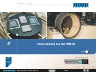 Carpet Standard and Test Methods - Carpet Institute of Australia