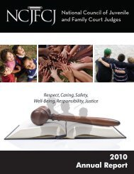 Annual Report - National Council of Juvenile and Family Court Judges