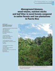 Todos los resúmenes - Bois et forêts des tropiques - Cirad