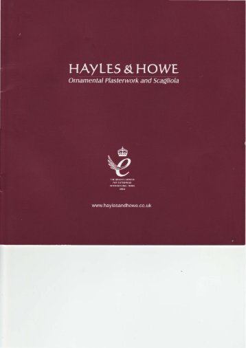 Download - Hayles And Howe