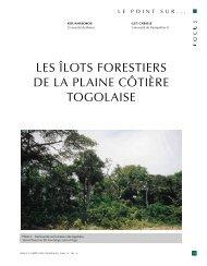les îlots forestiers de la plaine côtière to golaise - Bois et forêts des ...