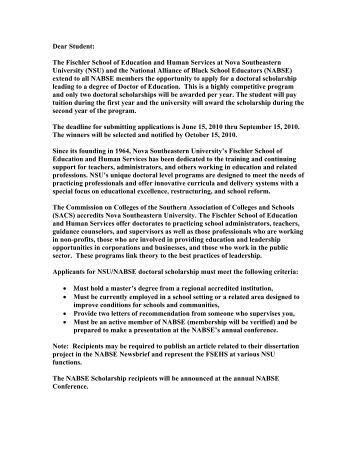 Nova southeastern university dissertation editors
