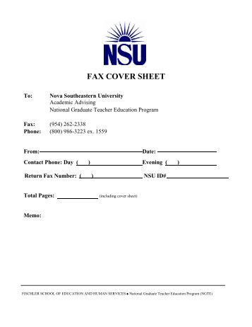 Dissertations: Find NSU Dissertations