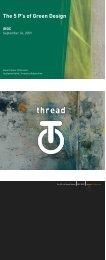 Five P's of Green Design PDF - IRDC