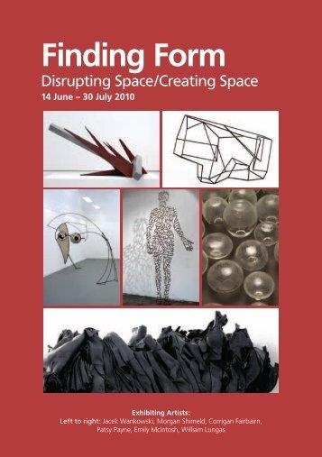 Finding Form - Art Gallery - University of Western Sydney