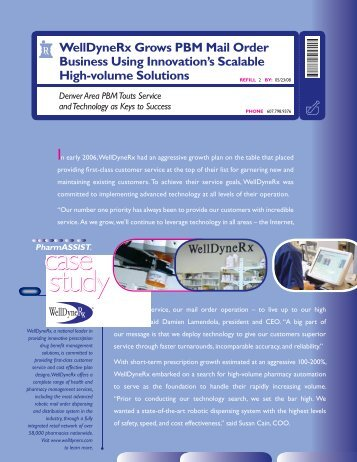 WelldyneRx Case Study - Innovation Associates