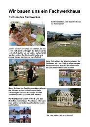 Wir bauen uns ein Fachwerkhaus - Modellbau Quedlinburg