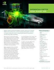 NVIDIA Quadro 5000 data sheet (features-benefits)
