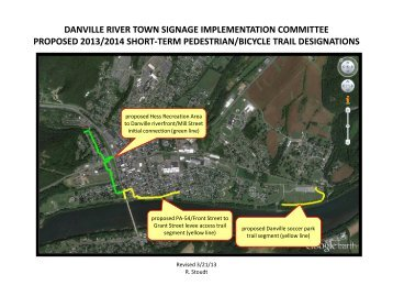 danville river town signage implementation committee proposed ...