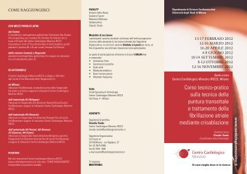 PRogRamma - Centro Cardiologico Monzino