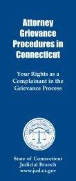JDP-GC-8, Attorney Grievance Procedures in Connecticut
