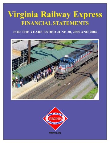 2005 Audited Financial Statement - Virginia Railway Express