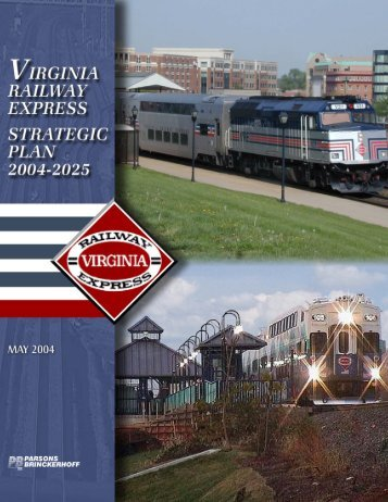 Complete Strategic Plan (Without Maps) - Virginia Railway Express