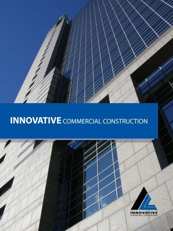 Innovative Commercial Construction Brochure - Digital Marketing ...