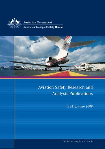 ATSB BROCHURE_research without dates.indd - Australian ...
