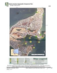 Boston Harbor Geographic Response Plan Hough's Neck BH-8 ...