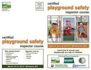 playground safety playground safety - ndrpa