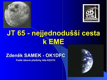 SMALL STATION EME ON 70 AND 23 CM USING JT44 - Ok1dfc.com