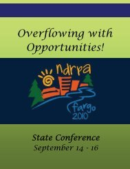 Overflowing with Opportunities! - ndrpa