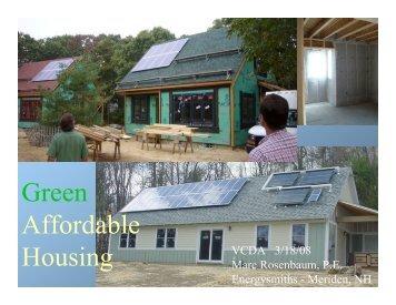 VT Community Development Association ... - Energysmiths