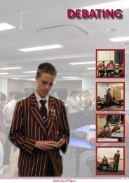 DEBATING - Ipswich Grammar School