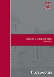 Prospectus - Ipswich Grammar School