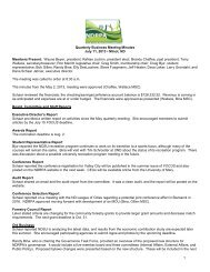 1 Quarterly Business Meeting Minutes July 11, 2013 • Minot ... - ndrpa