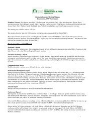 1 Quarterly Business Meeting Minutes December 2, 2009 ... - ndrpa