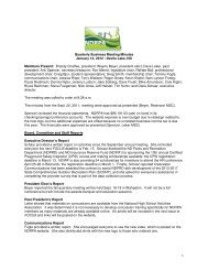 1 Quarterly Business Meeting Minutes January 12, 2012 ... - ndrpa